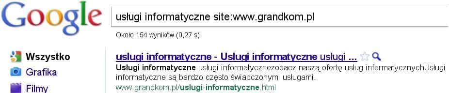 Wyszukiwanie na stronie internetowej - jak szybko szukać.