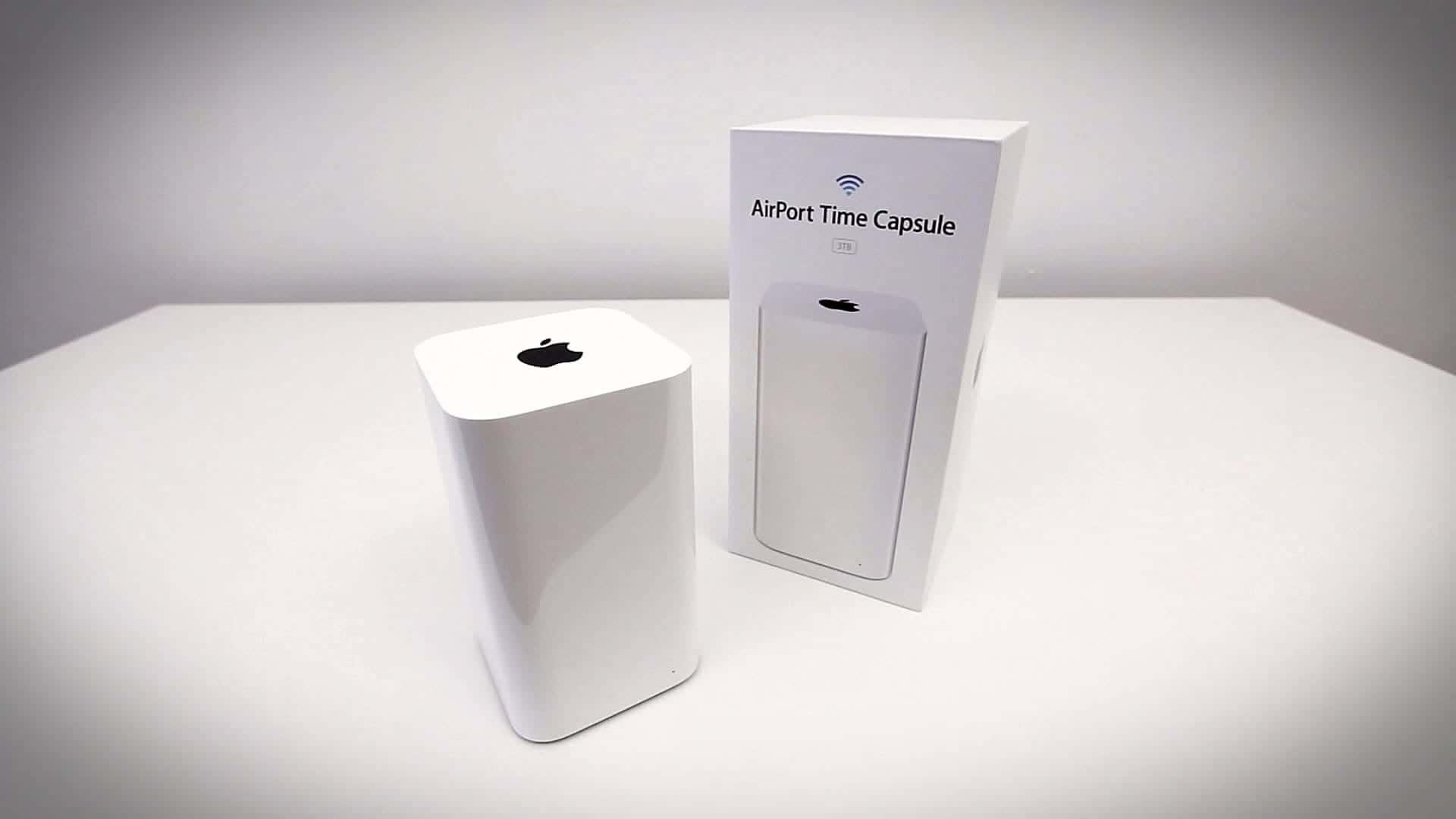 podłączenie time capsule, time capsule nie działa