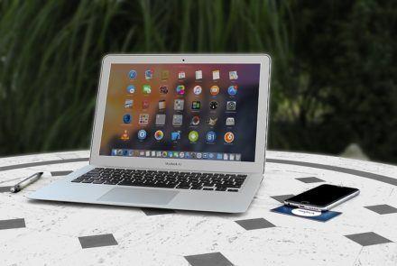 Obsluga Macbook Air